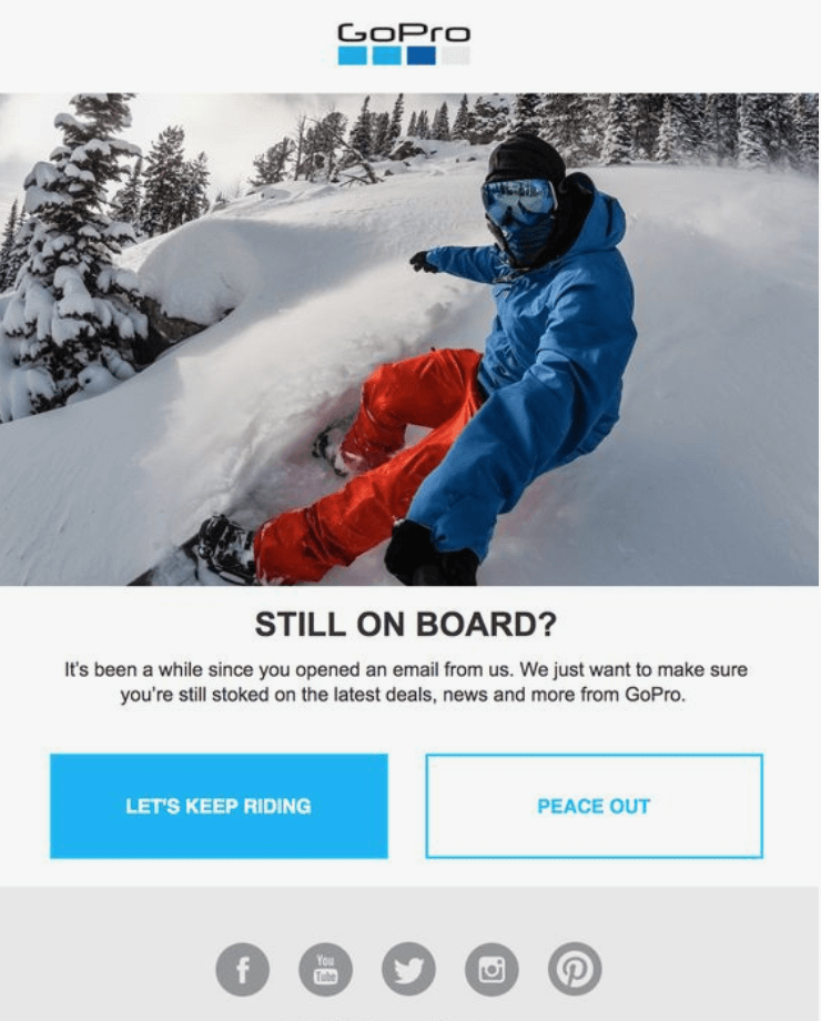 go pro email template