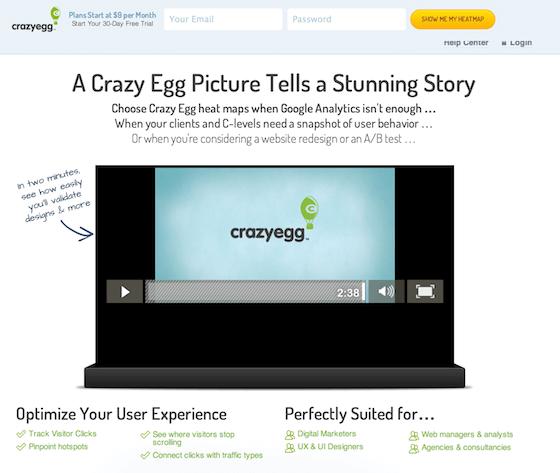 crazy egg software