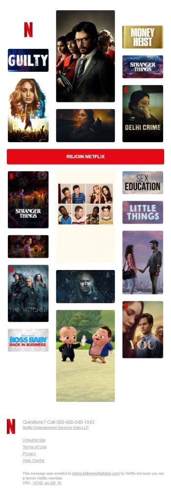 netflix movie template