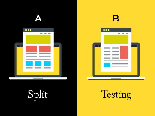 illustration of A/B testing
