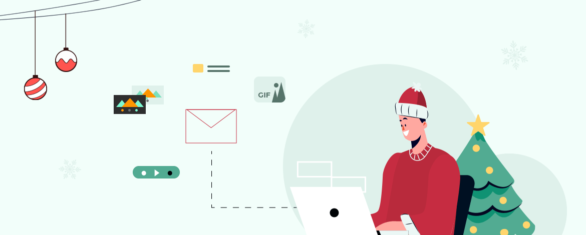 Email Design for holiday season