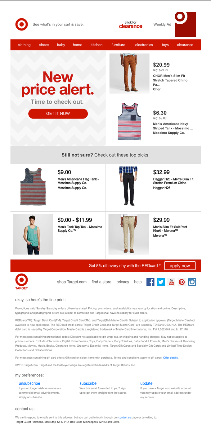 Digital commerce with email marketing journeys