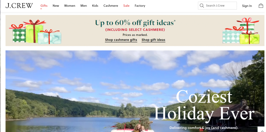 Holiday Landing page Tip