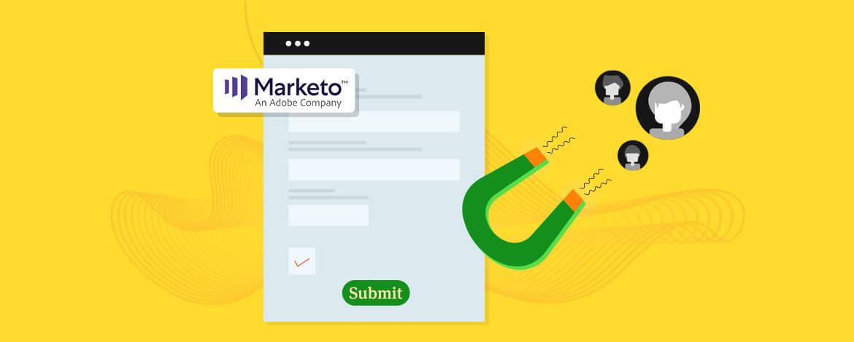 Marketo lead form