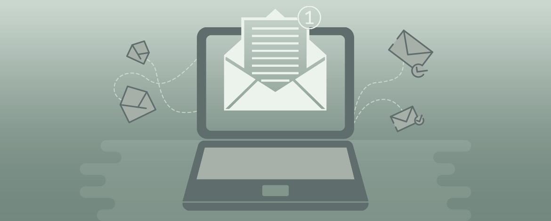 monochrome email design