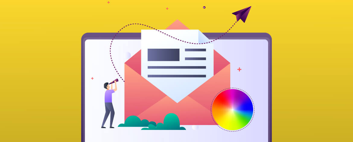 gradients in email