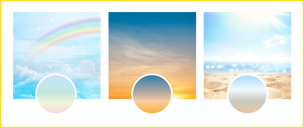 gradients in real life