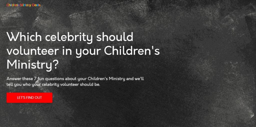 Children's Ministry Deals