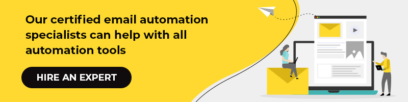 Our certified email automation specialists can help with all automation tools