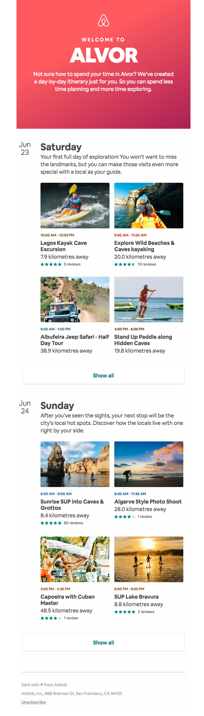 Responsive Email Template Example