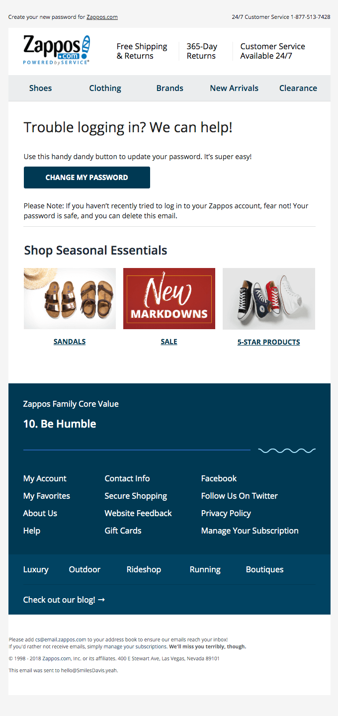 Trasactional Email Example