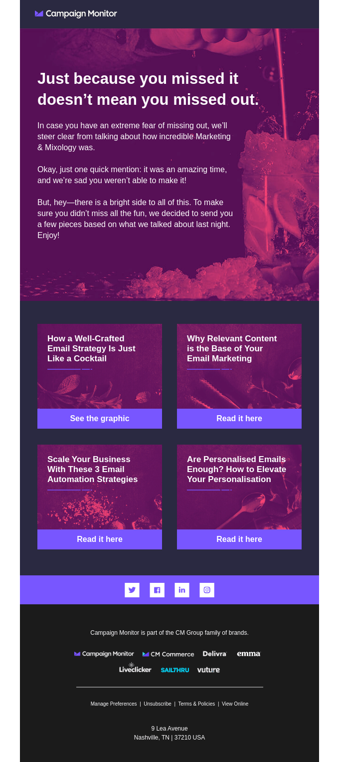 email template sample