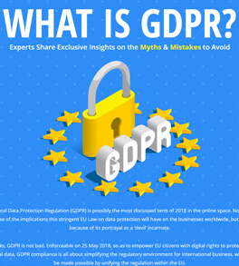 What is GDPR & Myths in it as per 11 Experts